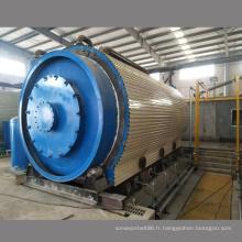 Installation gratuite du pneu dans l'usine de pyrolyse de l'huile