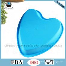 "Cheap Big Heart 8.5 ""moule à micro-ondes muffins en silicone Sc58"