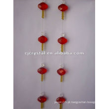 Cristal para cortina, cortina de cristal barato por atacado dos grânulos, cortina quente das vendas