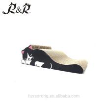 HOT gros beau lit pour animaux de compagnie en carton ondulé chat gratte CS-6001