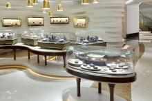 2016 Newest Design Wood High End Custom Jewelry Displays