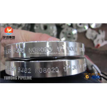 Стандарт ASTM B462 плита uns N08020 сплав 20 Выкованный Фланец