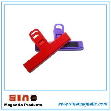 Creative Fridge Magnetic Food Seal Clip / Note Clip