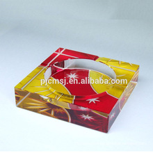 China manufacture professional large crystal ashtrays