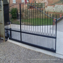 Hot Sale Beautiful Design Wrought Iron Sliding Gate
