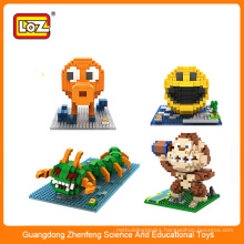 2015 new plastic puzzle game toy,diy 3d puzzle for adults