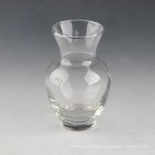 Vaso de vidrio de boca ancha para hotel / hogar / restaurante / boda