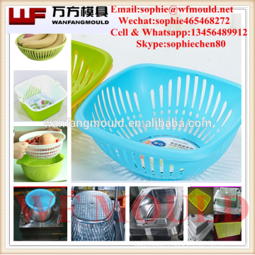 Taizhou supply injection mould/injection fruit baskt mould/household products injection mould