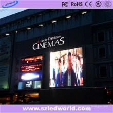П8 внешний полноцветный светодиодный цифровой цифровой дисплей рекламный щит