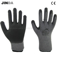 Latex Coated Knitted Yarn Shell Safety Work Gloves (LS002)