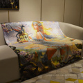 children cartoon  printed 50x60 sublimation blankets