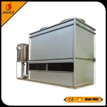 tour de refroidissement de bobine de cuivre fermée d'acier inoxydable