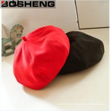 Kundenspezifische Winter-warme Normallack-Wolle-Hüte Kappen