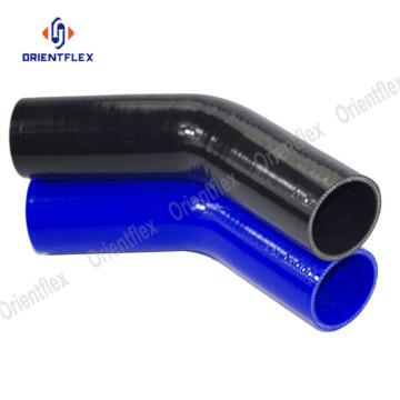 90 degrés coude silicone tuyau en caoutchouc