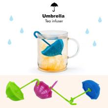 Eco-Friendly Non-Toxic Umbrella Shape Silicone Tea Infuser/Tea Strainer