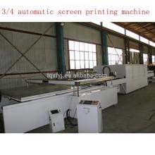 impressora de tela de seda de quatro pós totalmente automático