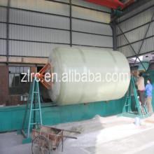 Стеклопластиковые горизонтальные и вертикальные емкости сосуда намоточный станок