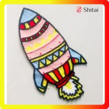 China New Product for Patches For Jackets name logo patch paper backing embroidery patch l export to Italy Exporter