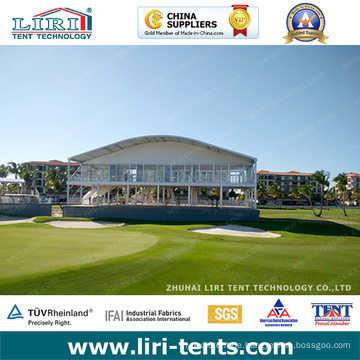 Zweistöckiges Zelt Doppeldeckerzelt für PGA Sportveranstaltungen
