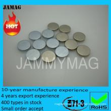Disco ndfeb chip magnético