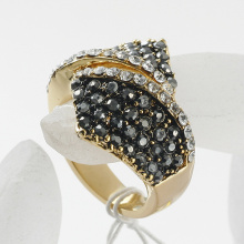 New Arrival Gorgeous Rhinestone Rings 100% Excellent Quality gold plated jewelry
