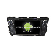 Quad-Core! Auto-DVD mit Spiegel Link / DVR / TPMS / OBD2 für 8-Zoll-Touchscreen-Quad-Core 4.4 Android-System NISSAN TEANA