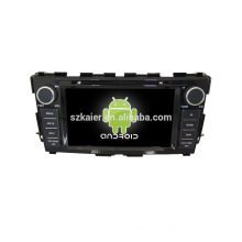 Quad core! Dvd de voiture avec lien miroir / DVR / TPMS / OBD2 pour 8 pouces écran tactile quad core 4.4 Android système NISSAN TEANA