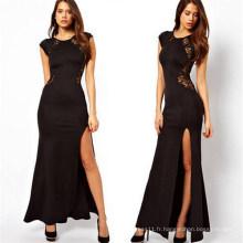 Dernière robe de robe longue maxi