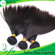 Extensão brasileira do cabelo humano do cabelo de Remy do cabelo do Virgin da qualidade superior da categoria 7A