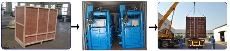 Used Clothes Baling Machine