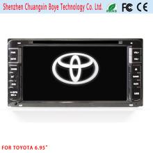 Lecteur DVD à deux DIN pour Toyota