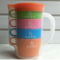 Plastic Water Cup Set