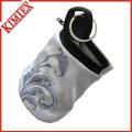 Zipper Cotton/ Terry Sport Wristband/ Sweat Wrist Band Wallet