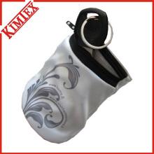 Zipper algodón / Terry Sport Wristband / sudor pulsera de la banda de la cartera