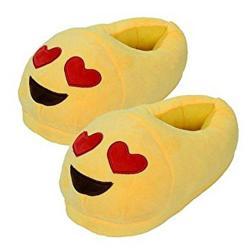 Emoji Red Heart Slippers