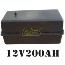 200A Solarbatterie Bodenkasten Untertage Solar Wasserdichte Batterie Box