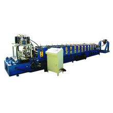 Máquina formadora de rolos de telha de aço tipo C
