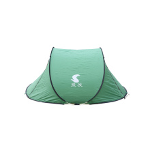 Green quick opening tents