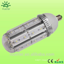 high brightness 110v 120v 220v 240v led light bulb corn led 40w e40