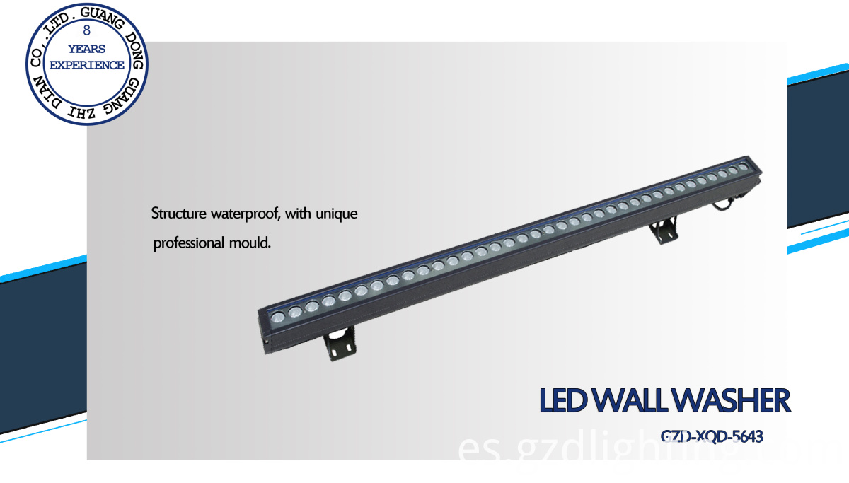 professional led wall washing