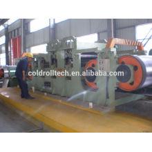 Broyeur à rouleaux réversible à froid pour les bandes d'acier, acier au carbone / inoxydable / aluminium, etc.
