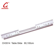 Furniture Table Slide Soft Closing Under Mounted Slider (CH3514)