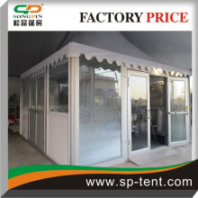Luxury temporary Tents for sale with good quality Hard walls and glass door