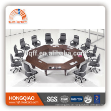 HT-05 modern conference table stainless steel frame for round conference tables for sale