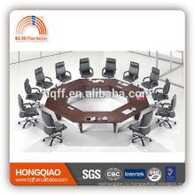 НТ-05 современный конференц-стол из нержавеющей стальная рама круглые столы, конференции для продажи