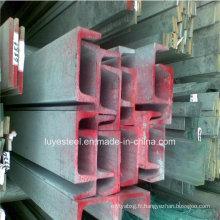 Canal d'acier au carbone U appliqué dans le matériel Q235