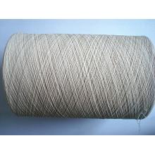 Fils de coton bio OE -Ne10s / 1 Raw White