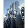 Zur Destillation wird eine Kohlenstoffstahlsäule verwendet