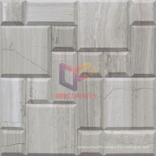 Wood Pattern Stone Mosaic Tile (CFS1042)
