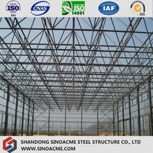European Style Light Prefab Structural Aircraft Hangar